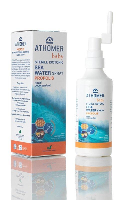 ATHOMER Baby Propolis tengervíz orrspray 100 ml