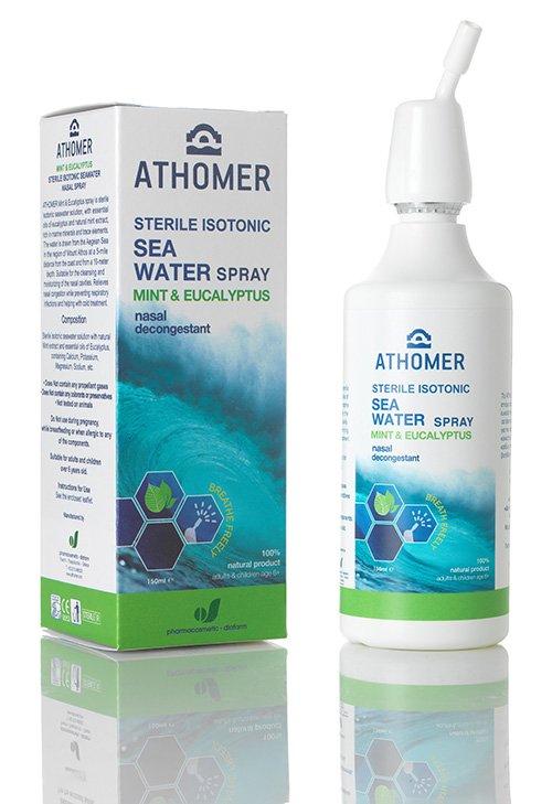 ATHOMER Mentol-eukalipt. tengervíz orrspray 150 ml