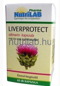 NutriLAB Liverprotect standardizált máriatövis kivonat kapszula 60x www.nutrilab.hu