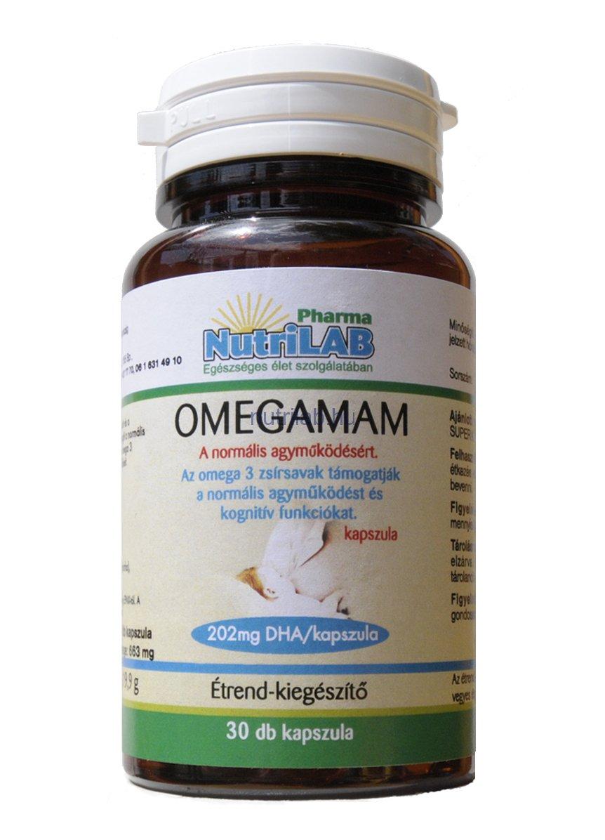 NutriLAB OMEGAMAM omega 3 kapszula 30X