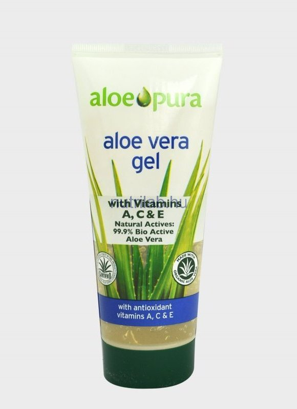 OPTIMA Aloe Vera gél A-, C-, E-vitaminnal 200 ml