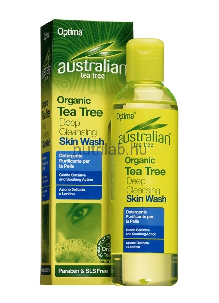 Optima Ausztrál Teafa bőrlemosó gél 250 ml