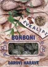 Bonboni Eukaliptusz cukorka 100 g
