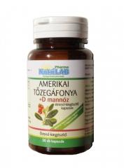 NutriLAB Amerikai tőzegáfonya +D mannóz 30X