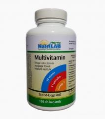 NutriLAB Multivitamin Omega 3-al 150X