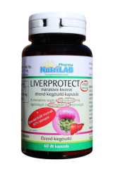 NutriLAB Liverprotect máriatövis kivonat vega kapszula 60x étrend-kiegészítő
