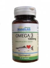 NutriLAB Omega 3 halolaj kapszula 30X