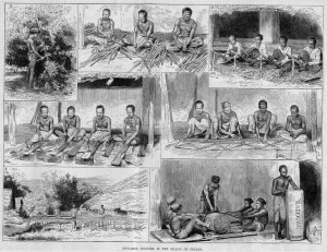 Ceyloni fahéj munkások