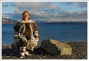 inuit asszony