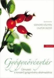 gyógynövények könyv