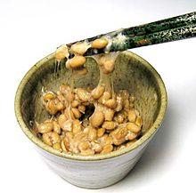 Japán nemzeti étel: natto (erjesztett szójabab)