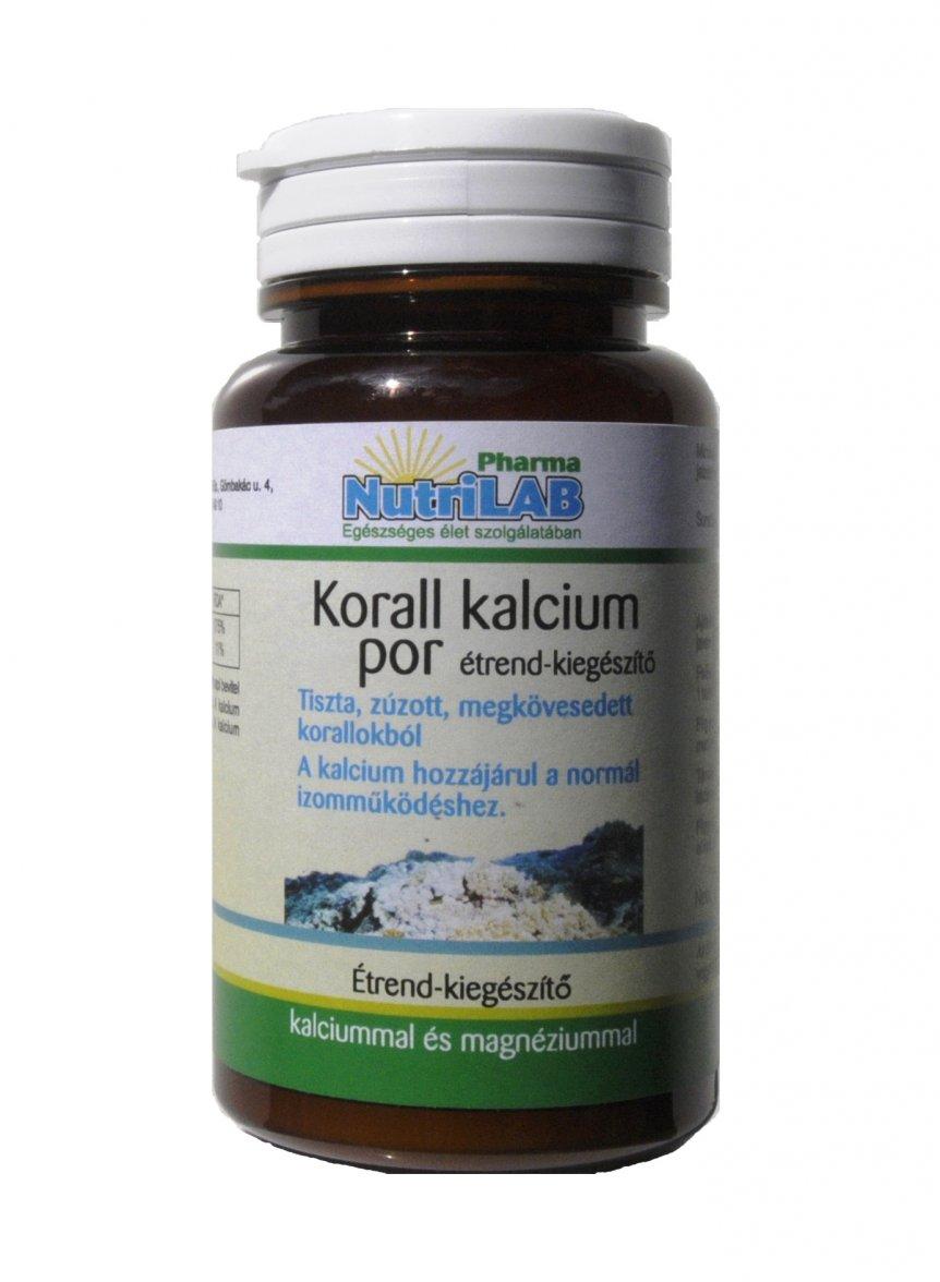 NutriLAB Korall Kalcium por