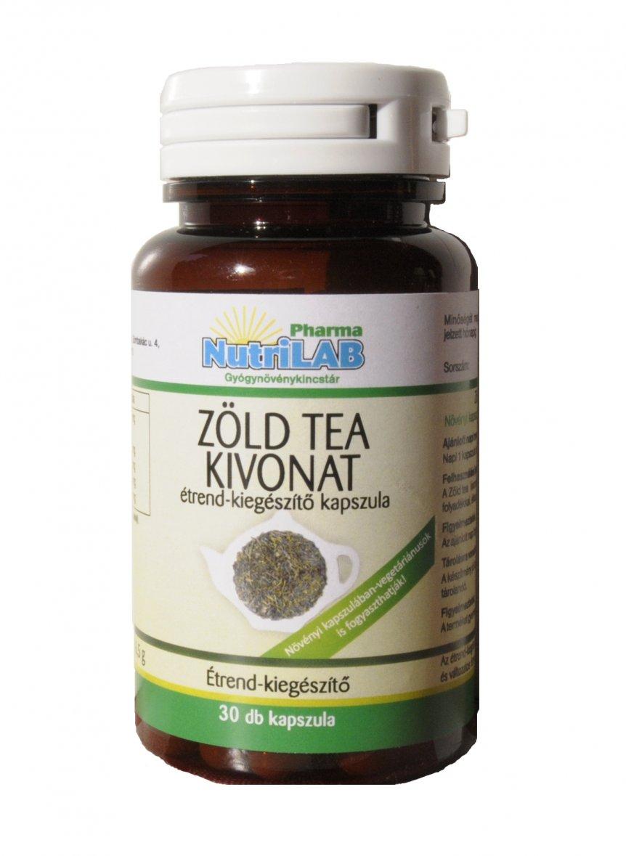 NutriLAB Zöld tea kivonat kapszula 30X
