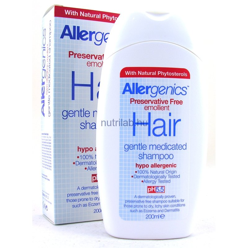 OPTIMA Allergenics nyugtató hajsampon 200 ml
