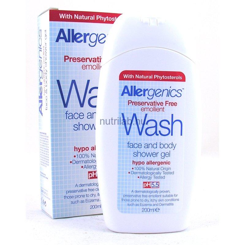 OPTIMA Allergenics tusfürdő gél arcra és testre 200 ml