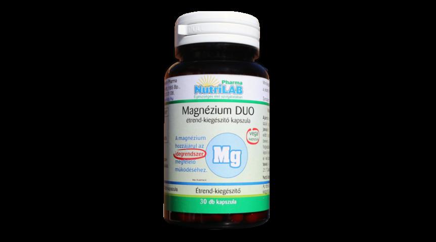 NutriLAB Magnézium DUO kapszula 30X