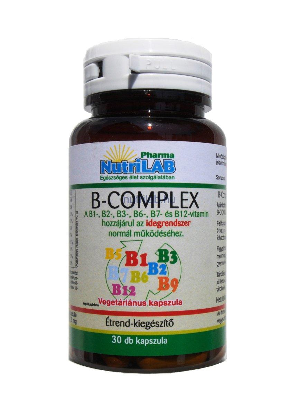 NutriLAB B-Complex 30x