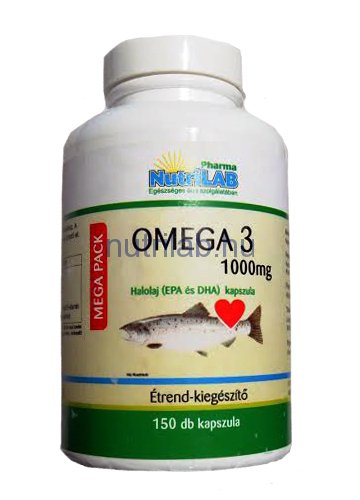 NutriLAB MEGA PACK Omega 3 1000 mg 150x