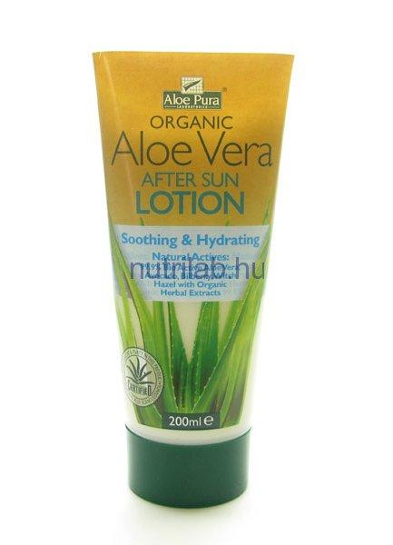 Optima Aloe Vera napozás utáni testápoló 200 ml