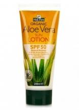 Optima Aloe Vera fényvédő testápoló SPF 50 200 ml