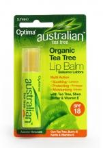 OPTIMA Ausztrál bio teafaolaj ajakbalzsam shea vajjal és E-vitaminnal 5,7 ml