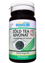 NutriLAB Zöld tea kivonat vega kapszula 30x