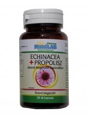 NutriLAB Echinacea + Propolis kapszula 30X